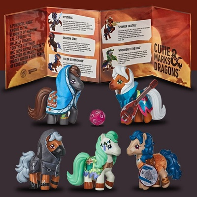 MY LITTLE PONY X DUNGEONS & DRAGONS CROSSOVER Accesorio Gioco di Ruolo