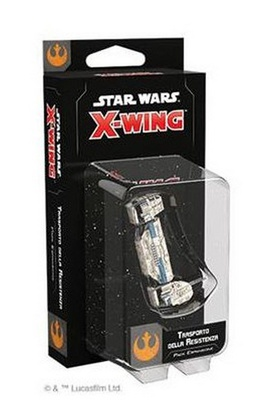 STAR WARS X-WING 2ed : TRASPORTO DELLA RESISTENZA Miniatura Espansione Gioco da Tavolo