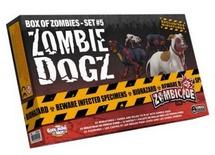 ZOMBICIDE : BOX OF ZOMBIES SET #5 ZOMBIE DOGZ Espansione Gioco da Tavolo