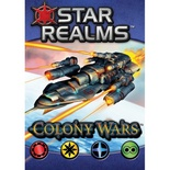 STAR REALMS COLONY WARS Gioco da Tavolo