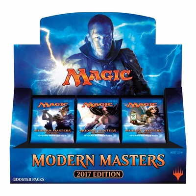 Box Magic MODERN MASTERS 2017 EDITION 24 Buste Booster Inglese
