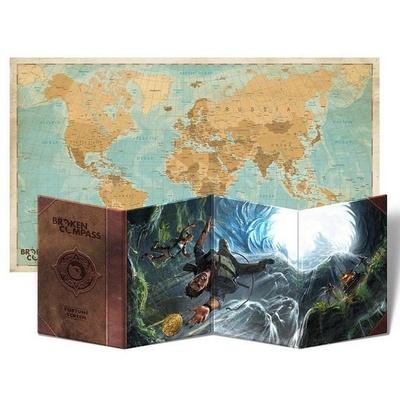 Broken Compass : Schermo del Fortune Master + Mappa del Mondo