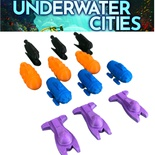 Underwater CIties : Set 12x Token Azione Sottomarino Submarine Action Markers