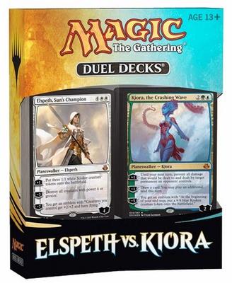 Duel Decks Magic Elspeth vs. Kiora 2 Deck Mazzo Duello Inglese