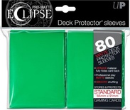 80 Sleeves Ultra Pro ECLIPSE PRO MATTE Verde Bustine Protettive Green