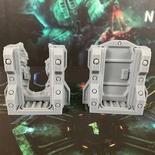 NEMESIS : Portellone Deluxe 3D Scenario Token Sci-fi Door
