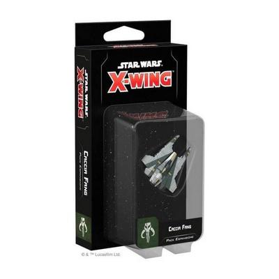 STAR WARS X-WING 2ed :CACCIA FANG Miniatura Espansione Gioco da Tavolo