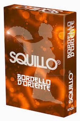 SQUILLO : BORDELLO D'ORIENTE Gioco da Tavolo in Italiano