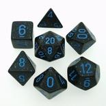 7 Die Set Chessex SPECKLED BLUE STAR blue 25338 MACULATO BLU STELLE blu Dadi Dado Dice