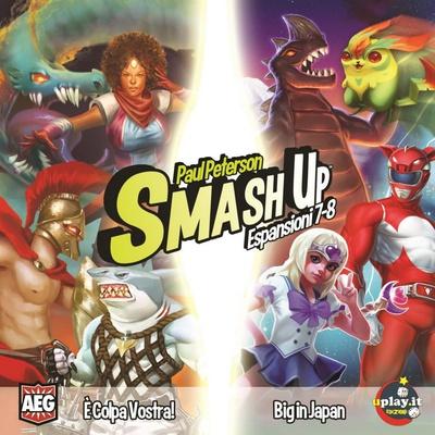 SMASH UP : E' COLPA VOSTRA & BIG IN JAPAN Espansione Gioco da Tavolo