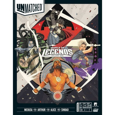 Unmatched - Battle of Legends: Volume One