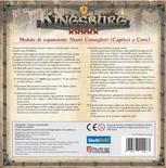 KINGSBURG : CAPRICCI A CORTE Espansione Gioco da Tavolo