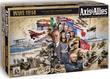 AXIS & ALLIES : 1914 Gioco da Tavolo in Inglese