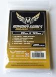 100 Card Sleeves Mayday MAGNUM DIXIT 80x120 Bustine Protettive Giochi da Tavolo Buste