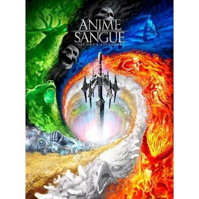 ANIME E SANGUE Seconda Edizione Gioco da Tavolo