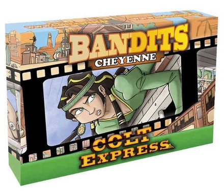 COLT EXPRESS : BANDITS - CHEYENNE Espansione Gioco da Tavolo