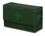 Deck Box Ultra Pro Magic MANA DUAL FLIP BOX GREEN Verde Porta Mazzo Scatola 200 Carte