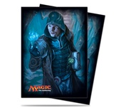 80 Deck Protector Sleeves Ultra Pro Magic JACE UNRAVELER OF SECRETS V2 Shadow of Innistrad