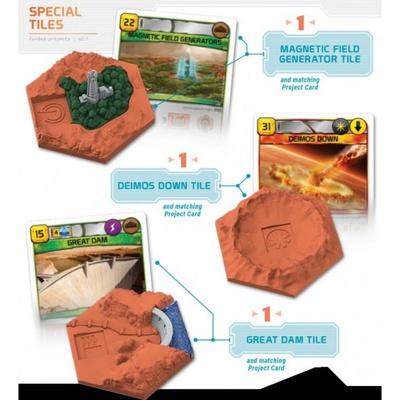 Terraforming Mars Big Box + 3D Tiles