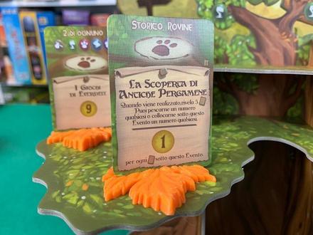 EVERDELL : Set 6x Supporto Foglia per Carta Evento Special Event Card Holder