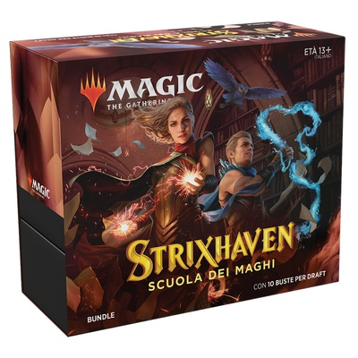Bundle Magic STRIXHAVEN 10 Boosters Fat Pack Italiano