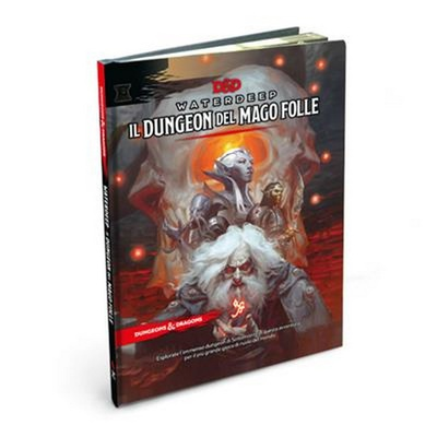 D&D WATERDEEP: DUNGEON DEL MAGO FOLLE 5ed Gioco di Ruolo Manuale