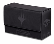 Deck Box Ultra Pro Magic MANA DUAL FLIP BOX BLACK Nero Porta Mazzo Scatola 200 Carte