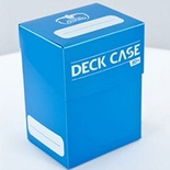 Deck Case Box 80+ Ultimate Guard Magic LIGHT BLUE CELESTE Porta Mazzo