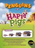 HAPPY PIGS : PINGUINI Tessere Promo Gioco da Tavolo