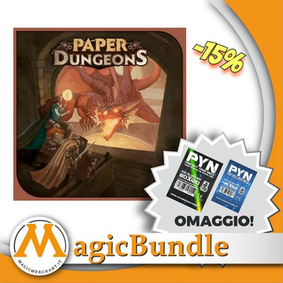 Paper Dungeons: Bundle con Protection Pack