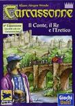 CARCASSONNE : IL CONTE, IL RE E L'ERETICO Espansione Gioco da Tavolo in Italiano