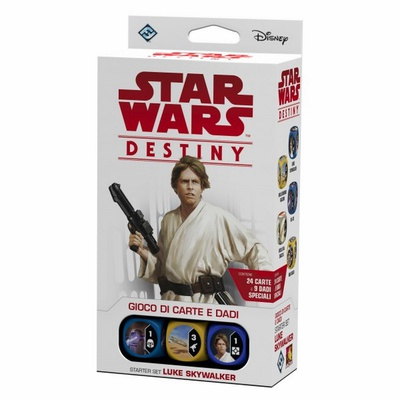 STAR WARS DESTINY : STARTER SET LUKE SKYWALKER Deck Mazzo Italiano