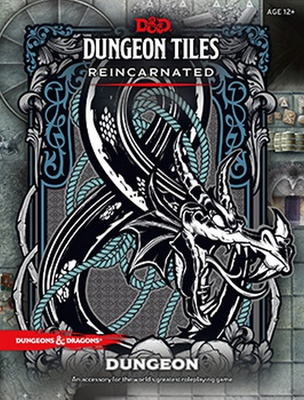 D&D DUNGEON TILES REINCARNATED : DUNGEON  5th Edition Accessorio Gioco di Ruolo