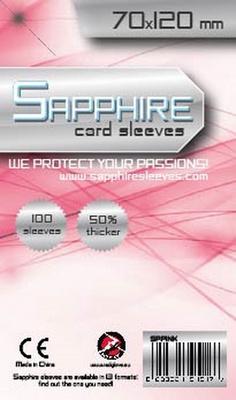 100 Sleeves Sapphire MAGNUM 70x120 Bustine Protettive x Giochi da Tavolo