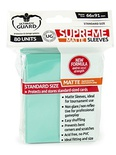 80 Supreme Sleeves Ultimate Guard Magic MATTE TURQUOISE Bustine Protettive Turchese