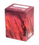 Deck Case Box 80+ Ultimate Guard Magic LANDS EDITION MOUNTAIN MONTAGNA  Porta Mazzo