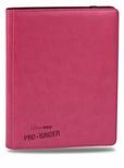 Album Ultra Pro PRO BINDER PREMIUM PINK Rosa Raccoglitore 9 Tasche 20 Pagine