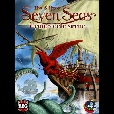 SEVEN SEAS Il Canto delle Sirene Gioco da Tavolo in Italiano