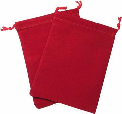 Cloth Dice Bag Small Chessex RED Sacchetto di Stoffa per Dadi Piccolo Rosso