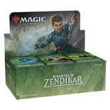Box Magic RINASCITA DI ZENDIKAR 36 Buste Booster Italiano