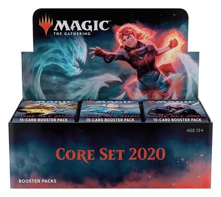 Box Magic CORE SET 2020 M20 36 Buste Booster Inglese