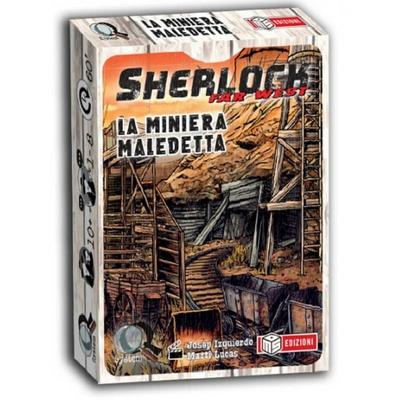 SHERLOCK : LA MINIERA MALEDETTA Gioco da Tavolo