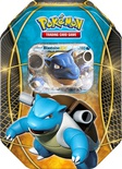 Pokemon Tin da collezione Trio del Potere Blastoise EX Mazzo Deck Box Metallo