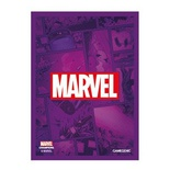MARVEL CHAMPIONS LCG : ART SLEEVES MARVEL PURPLE 66x91 50 Bustine Protettive