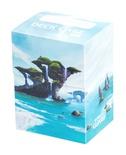 Deck Case Box 80+ Ultimate Guard Magic LANDS EDITION ISLAND ISOLA Porta Mazzo