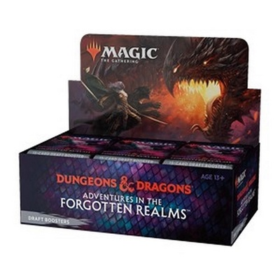 Box Magic FORGOTTEN REALMS 36 Buste Booster Inglese