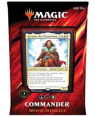 Mazzo Magic Commander 2019 MYSTIC INTELLECT Deck C19 Italiano