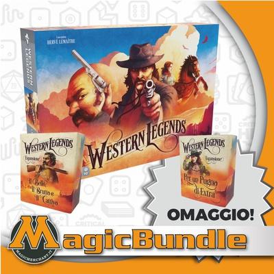 WESTERN LEGENDS : Bundle Gioco Base + 2 Espansioni!