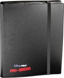 Album Ultra Pro PRO BINDER BLACK Nero Raccoglitore 9 Tasche 20 Pagine