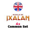 4x Set Comuni - Common Set Magic RIVALS OF IXALAN RIX Inglese
